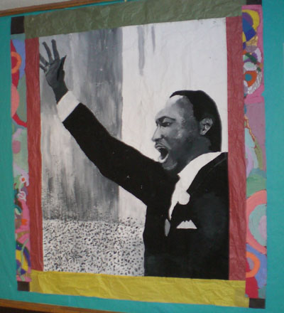 Martin Luther King Jr. mural